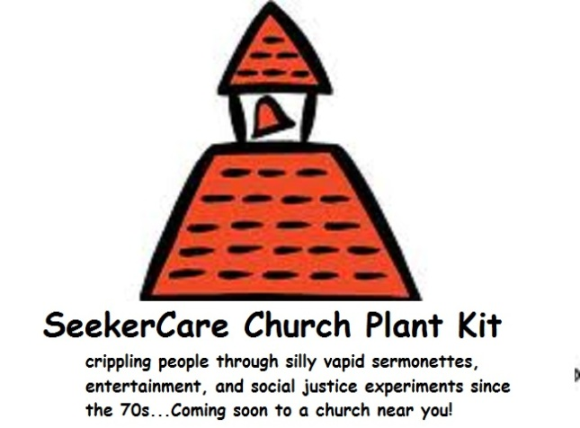 SeekerCare Church Plant Kit (Satire)