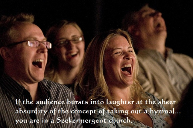 Laughing at Hymn (Humor)