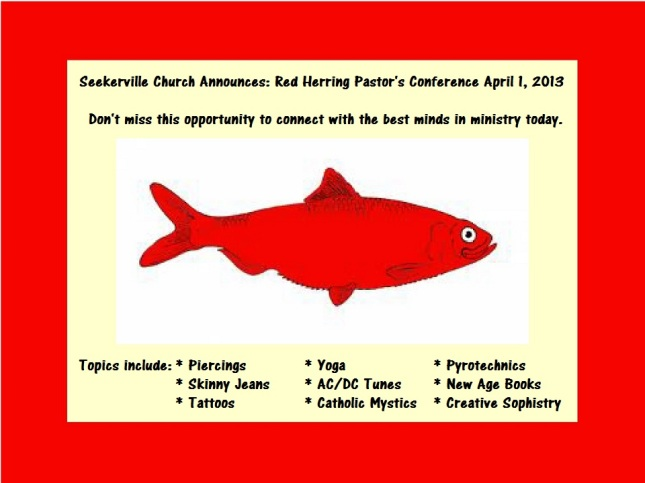 Newest Pastor's Conference (Humor)