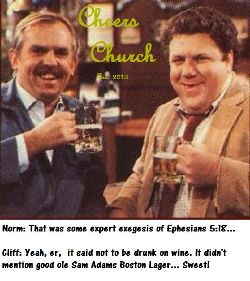Cheers Church  (Satire)