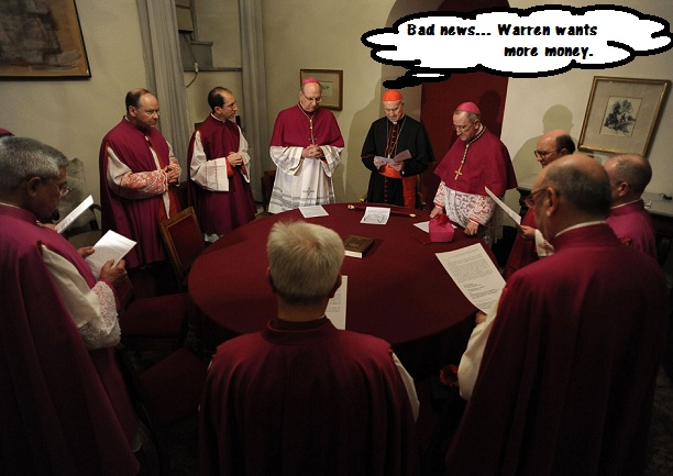 Purposeful Conclave? (Humor)