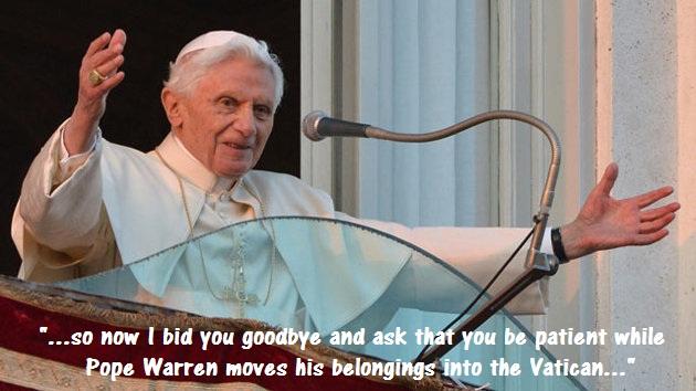 Seeking a Pope (Humor)