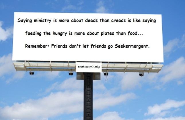 Deeds Not Creeds? (Opinion)