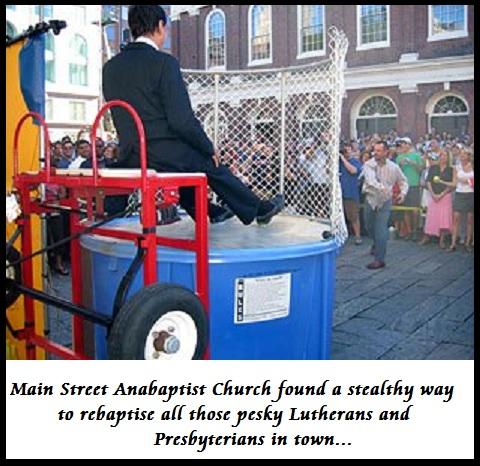 An Anabaptist's Revenge (Humor)