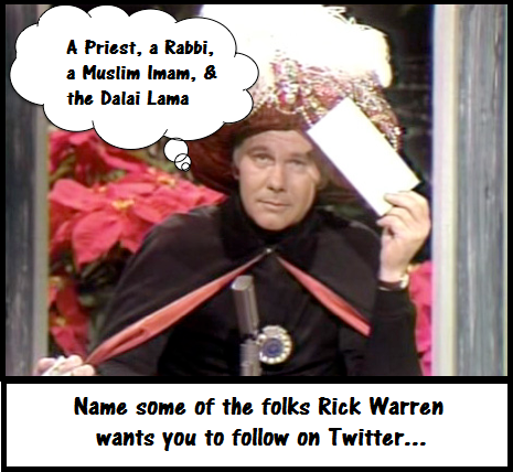 Twitter With Carnac (Satire)