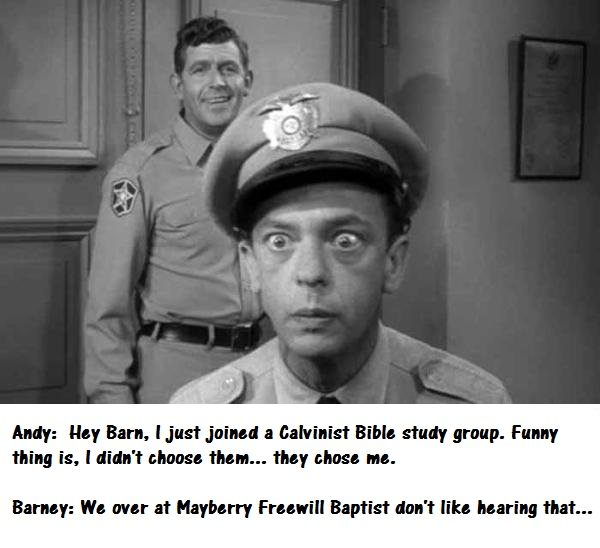 Mayberry Freewill Baptist (Humor)