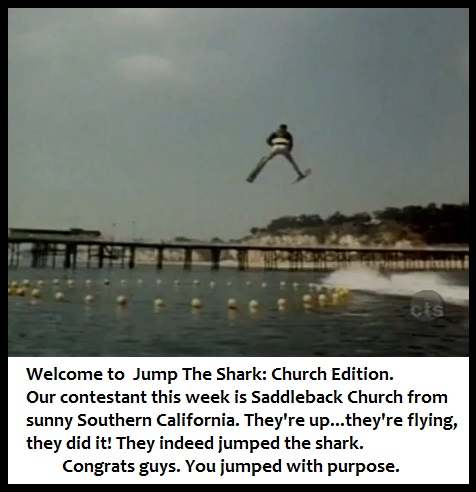 Jump The Shark: Church Edition (Satire)