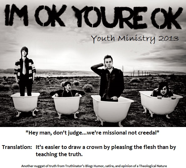 Youth Ministry 2013 (Satire)