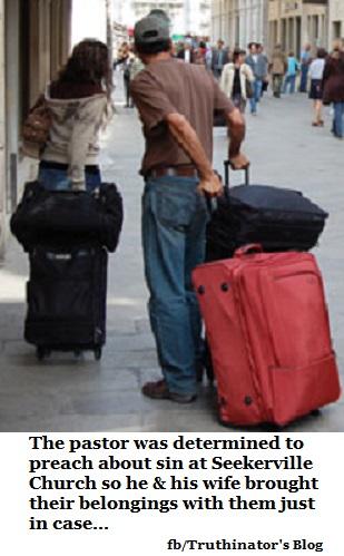 Preaching on Sin (Humor)
