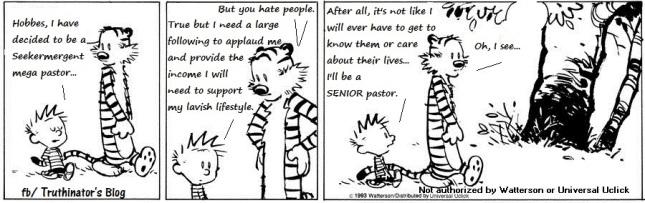 Seeker Senior Pastor (Humor)