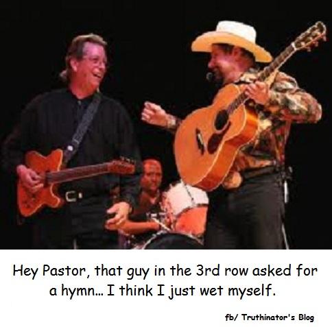 Laughing at Hymn