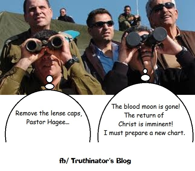 Blood Moon has left the building... (Humor)