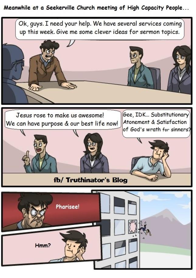 Meeting of High Capacity People (Satire)