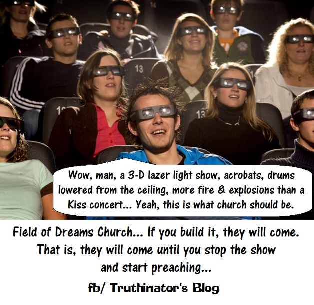 Field of Dreams Church (Satire)