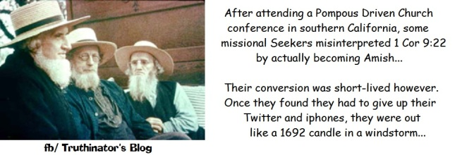 Amish Missional (Humor)