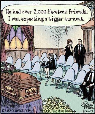 Friends are Few (Humor)